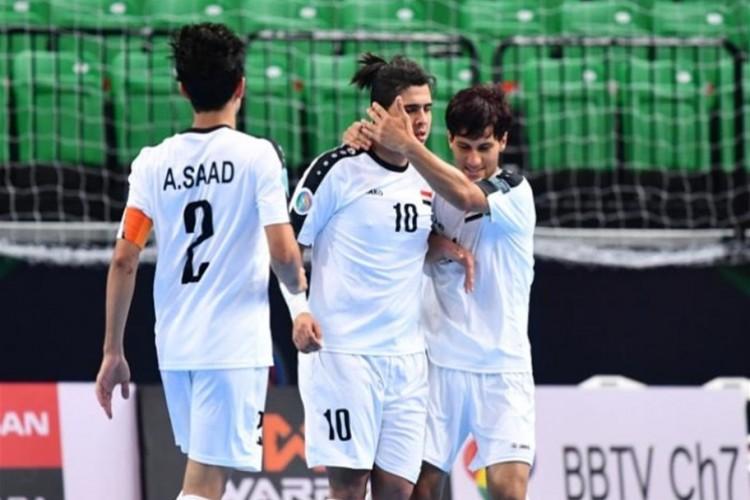 منتخب شباب العراق للصالات يواجه كرواتيا في أولى مباريات البطولة الدولية