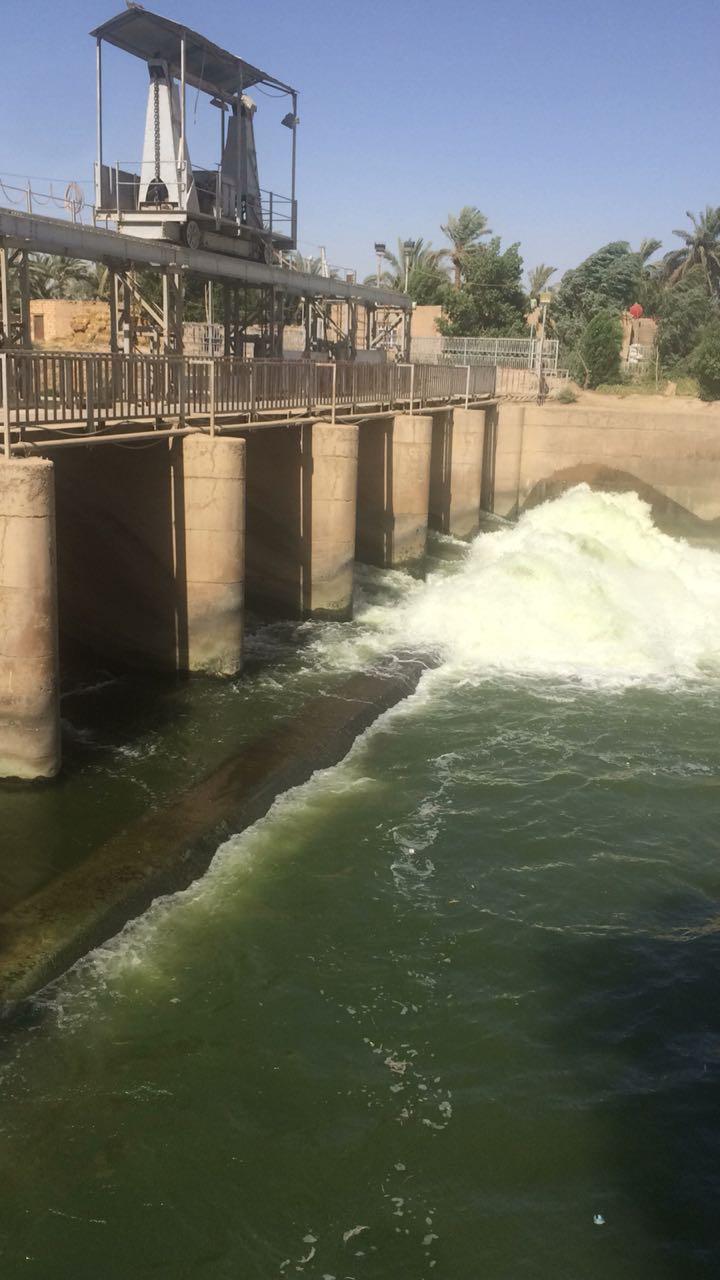 الموارد المائية : تصليح البوابات الأربعة التي شملها التخريب والعمل جاري على اعادة فتحها بالكامل