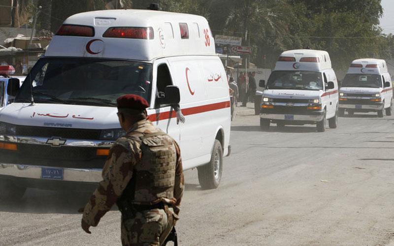 جرحى بانفجار عبوتين ناسفتين في منطقتين ببغداد