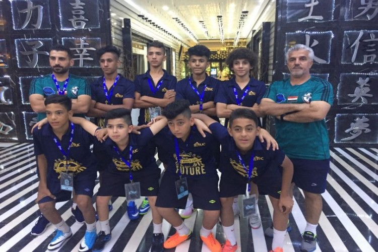 منتخبنا العراقي يفتتح بطولة العالم بكرة القدم لليتامى
