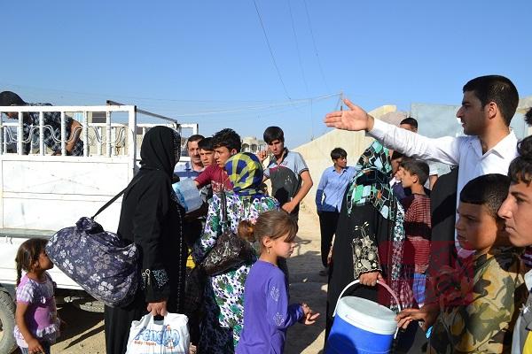 عودة ٤٤ عائلة نازحة إلى صلاح الدين