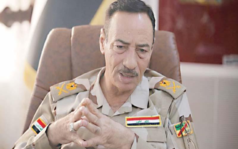 """قائد عمليات نينوى ينفي وجود أي خطر لـ""""الدواعش"""" في صحراء المحافظة"""