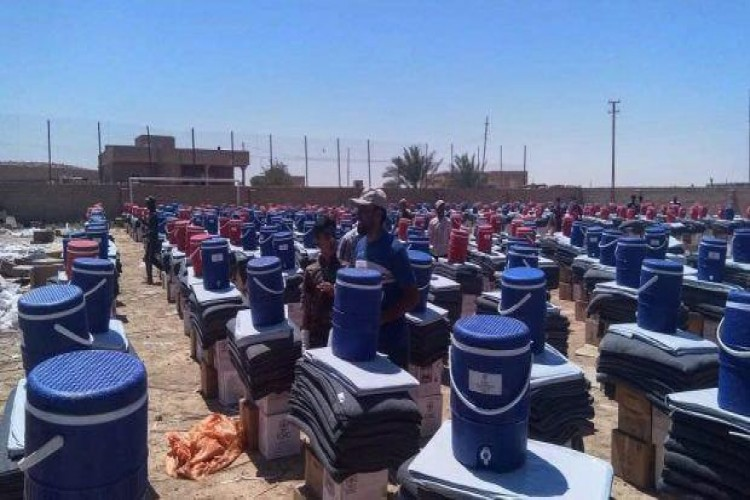 الحشد الشعبي يعلن تأمين غرب الأنبار ويؤكد على أهمية تواجد المنظمات الدولية في المناطق المحررة