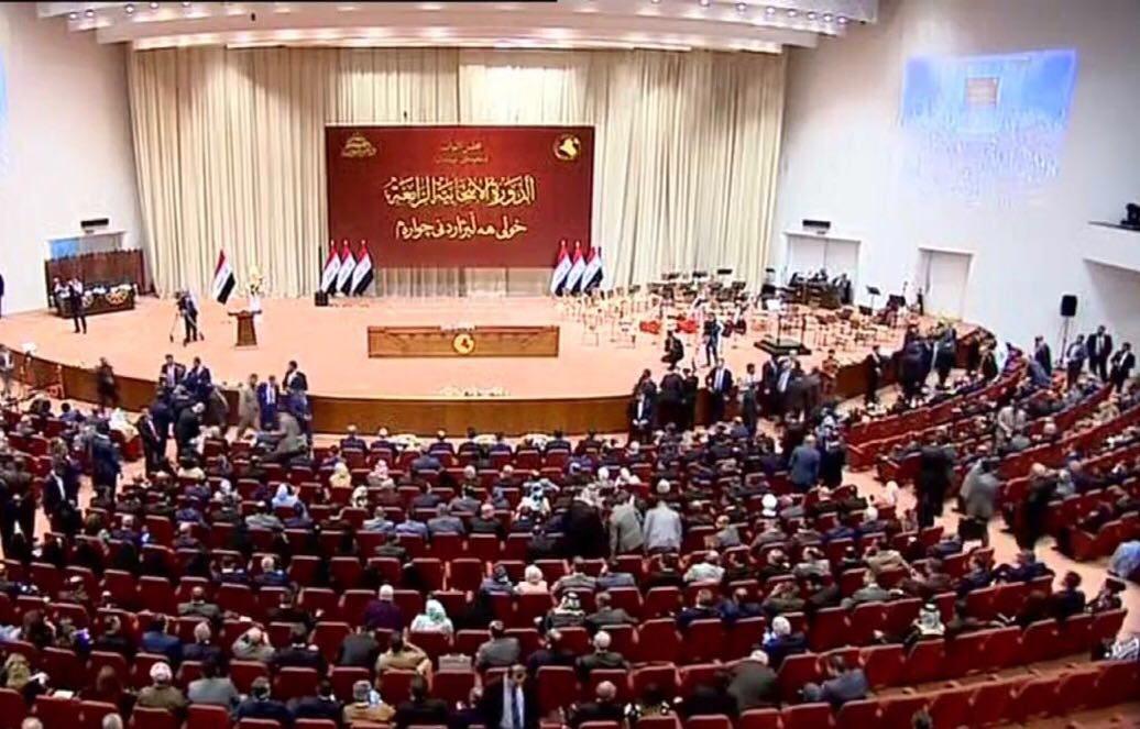عاجل: تأجيل عقد جلسة البرلمان نصف ساعة والحلبوسي يتوجه لعبد المهدي للمداولة
