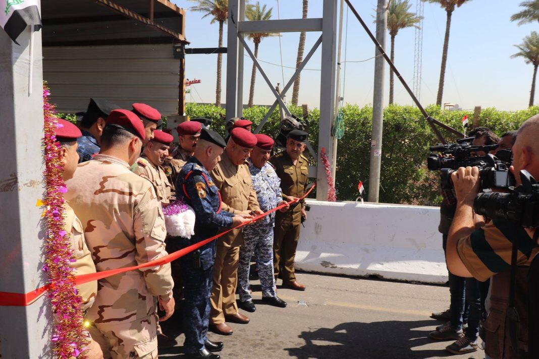 عمليات بغداد تفتتح المقر الجديد لسيطرتي الجادرية والقادسيةوك