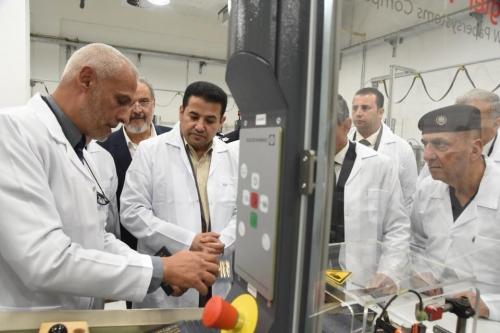 وزير الداخلية يفتتح المرحلة الأولى لمصنع البطاقات والجوازات الالكترونية