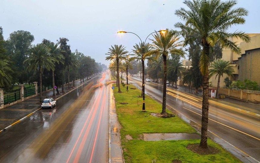طقس ممطر في الأيام الأربعة المقبلة