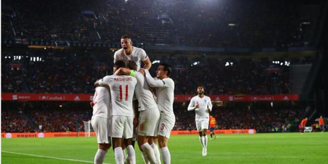 انكلترا تهزم اسبانيا بثلاثية في دوري الامم الاوروبية