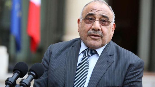 عبد المهدي يوجه رسالة إلى تحالف الفتح وسائرون والنصر والحكمة