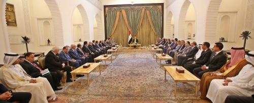 صالح يشدد لسفراء عرب وأجانب على عدم تحميل العراق وزر التوترات
