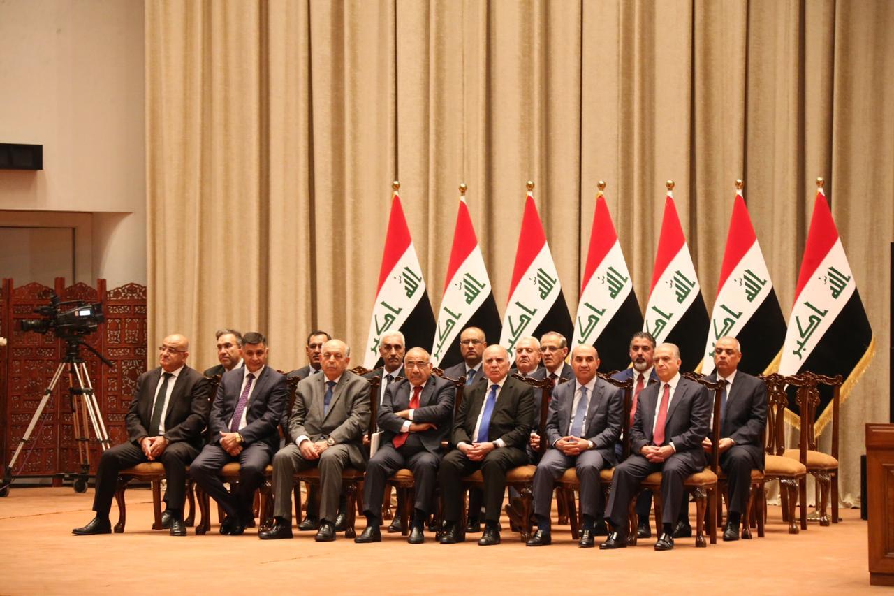 بالاسماء .. الوزراء الـ 14 الذين منحهم البرلمان ثقته في جلسة اليوم