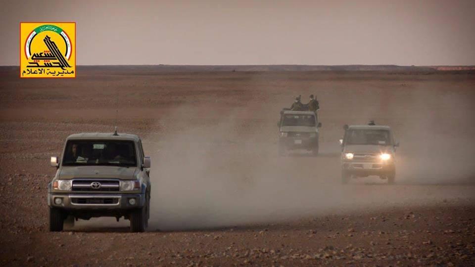 الحشد الشعبي يطلق عملية أمنية واسعة لتأمين الصحراء الغربية في الأنبار