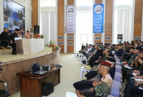 إعلان خطة الاربعين في الفرات الأوسط وإرسال تعزيزات أمنية