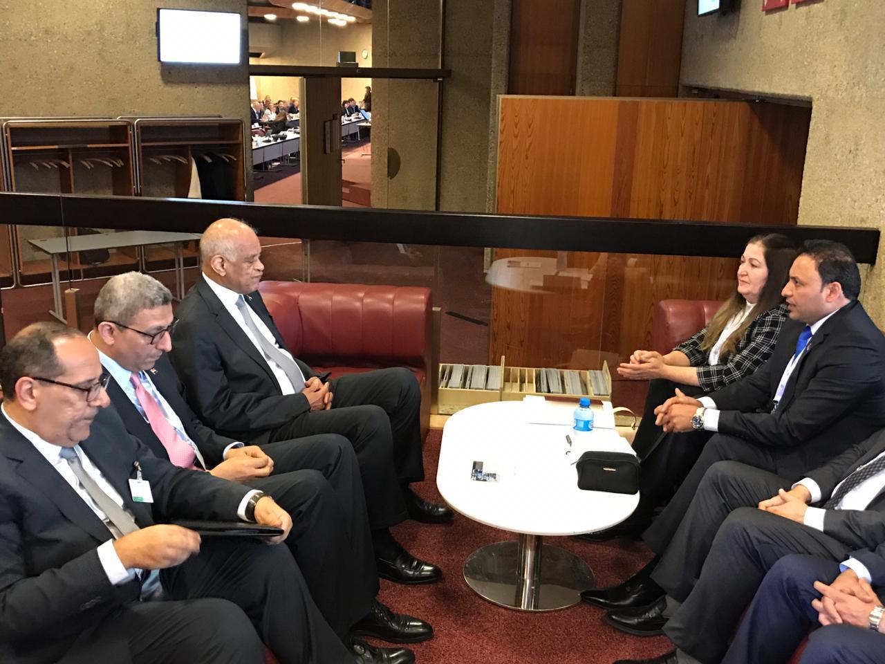 الكعبي يبحث مع رئيس البرلمان المصري تسهيل منح الفيزا للعراقيين وتفعيل اللجان البرلمانية المشتركة