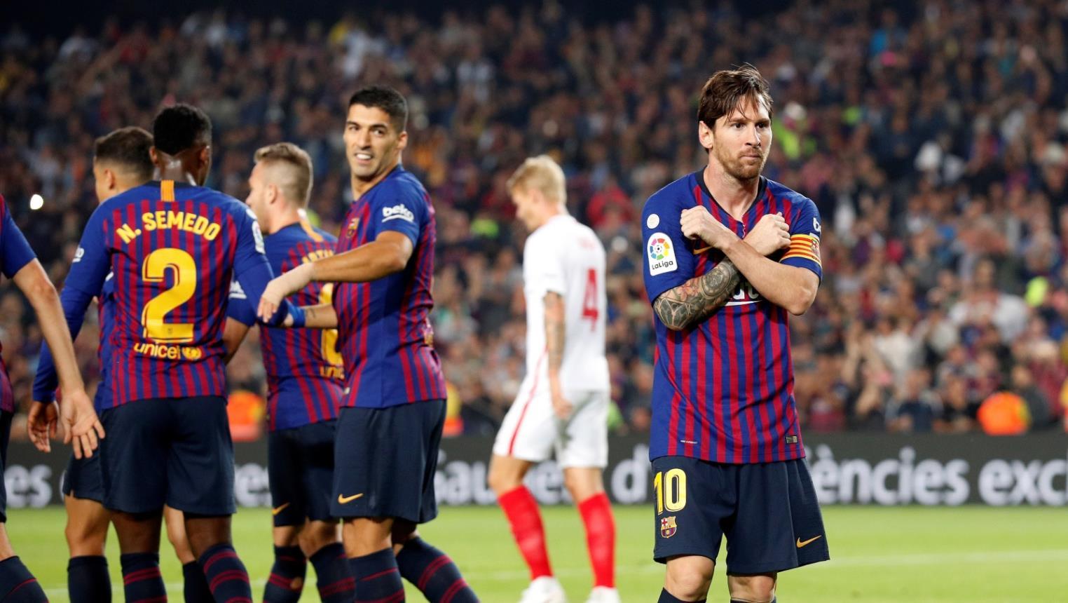 بدون ميسي .. برشلونة يواجه الانتر في دوري الأبطال اليوم