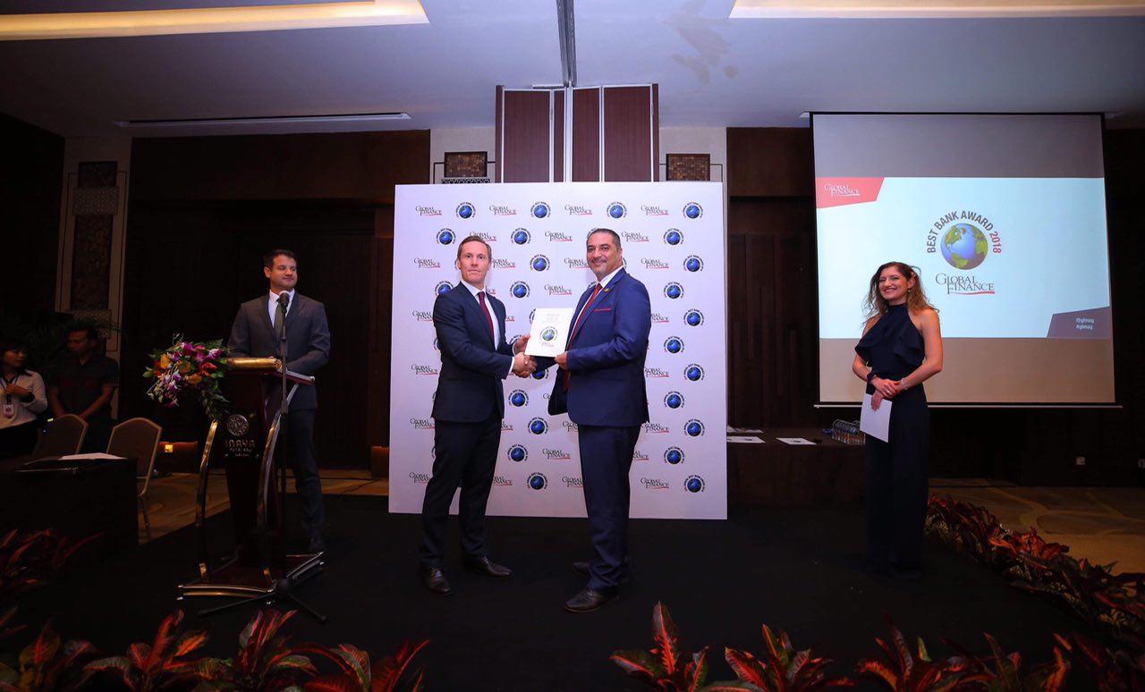 صندوق النقد الدولي يعلن حصول المصرف العراقي للتجارة TBI على  جائزة افضل  مصرف تجاري في العراق