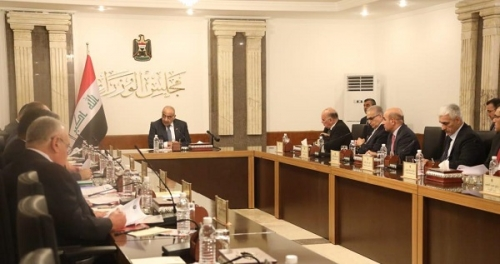 عبد المهدي : بحثنا في اول جلسة لمجلس الوزراء آليات عمل المجلس