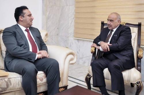 عبد المهدي والجبوري يبحثان البرنامج الحكومي وخدمة المواطن