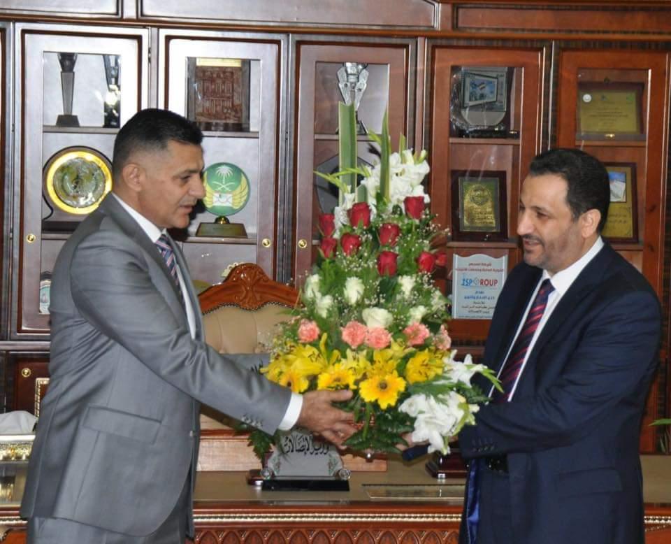 الربيعي يتسلم وزارة الاتصالات من الراشد