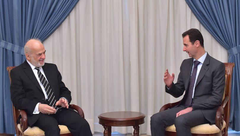 وزير الخارجية العراقي يصل إلى سوريا