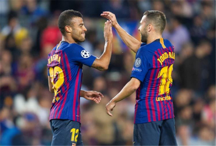 برشلونة يقهر الإنتر بثنائية نظيفة وينفرد بصدارة مجموعته في دوري الابطال