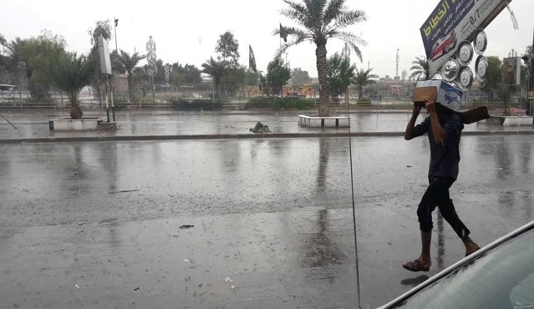 متنبئ جوي: أمطار غزيرة بداية الاسبوع المقبل