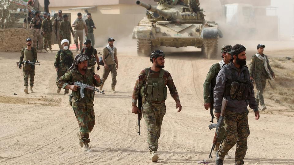 انطلاق عملية عسكرية مشتركة لتعقب عصابات داعش غرب سامراء