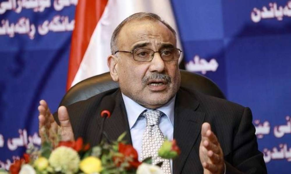 عبد المهدي لرؤساء الكتل الكردستانية النيابية: سنقطع مستحقات الإقليم اذا لم يسلم النفط