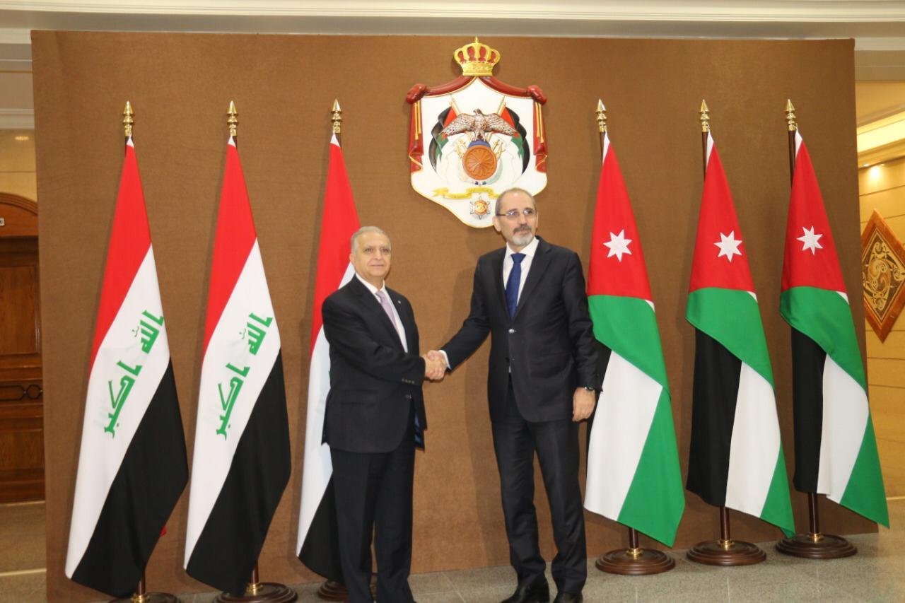 وزير الخارجية يلتقي نظيره الاردني في عمان