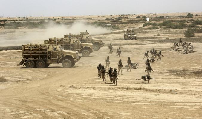 العمليات الخاصة تعلن تدمير وكرين لإرهابيي داعش في كركوك