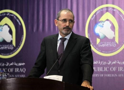 وصول وزير الخارجية الأردني إلى بغداد في زيارة رسمية