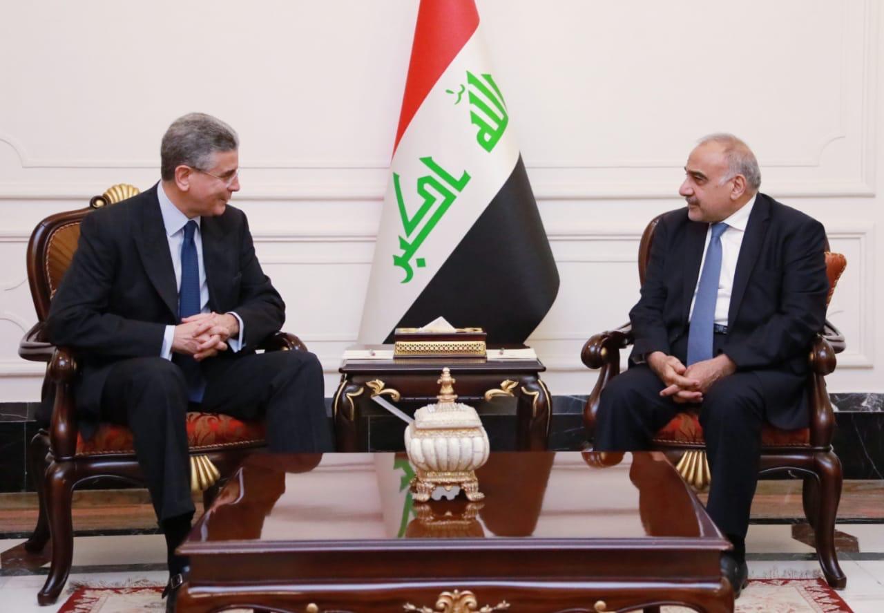 رئيس الوزراء يستقبل نائب رئيس مجموعة البنك الدولي لمنطقة الشرق الاوسط وشمال افريقيا