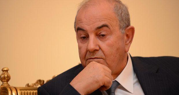 اياد علاوي:يجب حصر السلاح بيد القوات الامنية