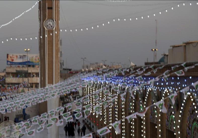 البغداديون يستعدون للإحتفال بالمولد النبوي الشريف