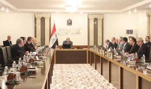 مجلس الوزراء يعقد جلسته الاعتيادية برئاسة عبد المهدي