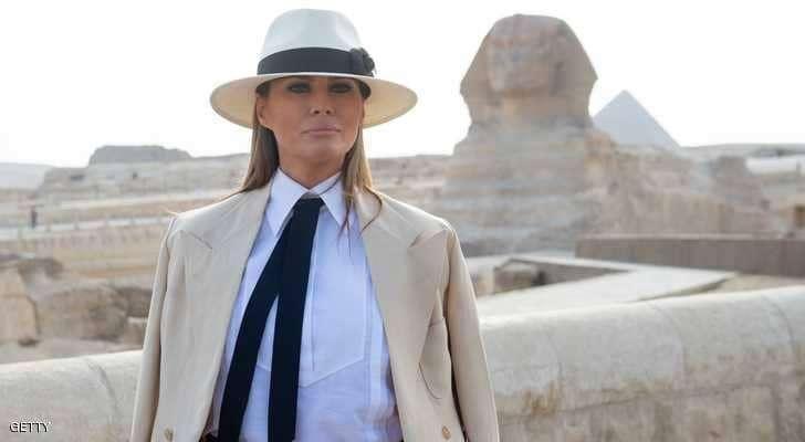 """""""فاتورة ضخمة"""" لـ 6 ساعات قضتها ميلانيا ترامب في القاهرة"""