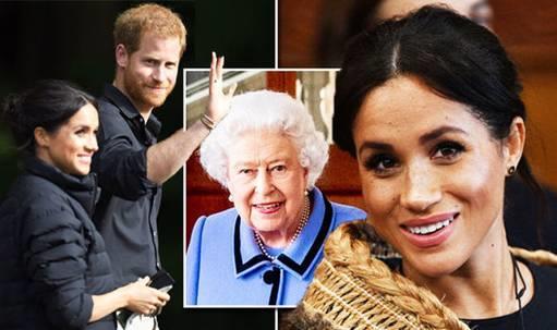 هل ستسمح الملكة إليزابيث لميغان باختيار اسم مولدها الجديد؟