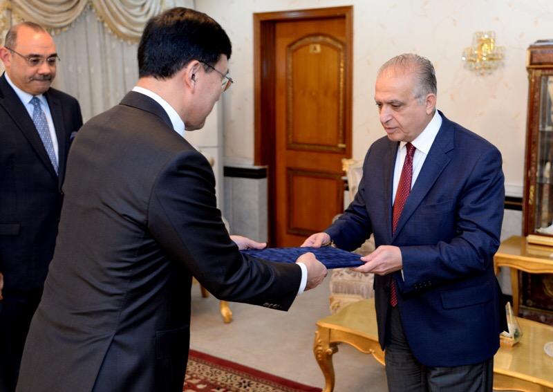 اعتماد سفير جديد لكوريا الجنوبية في العراق