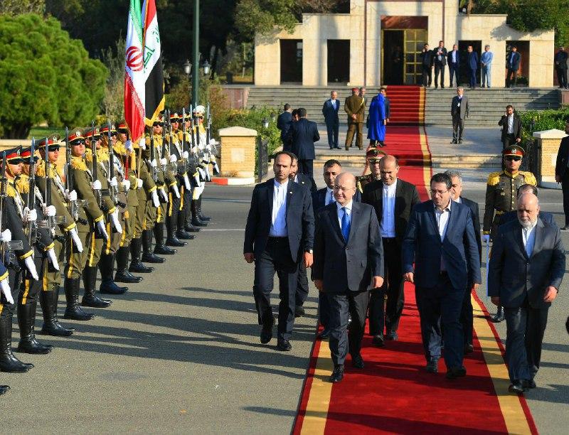 برهم صالح يغادر طهران متجها إلى الرياض في زيارة رسمية