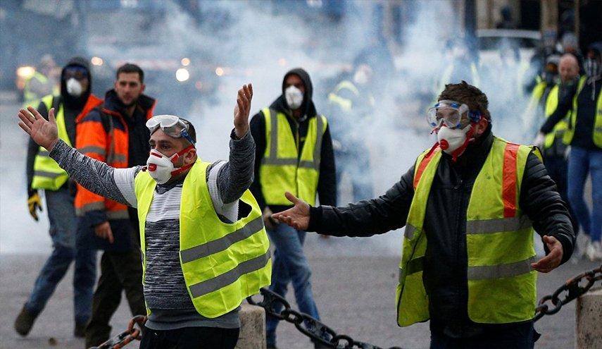 مراقبون: احتجاجات اليوم في باريس كانت الأعنف منذ عام 1968