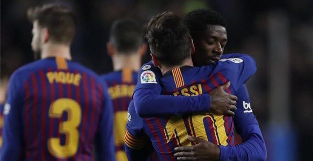 برشلونة يعزز صدارته لليغا بفوزه بثنائية نظيفة على سيلتا فيغو