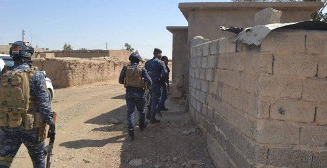 الشرطة الاتحادية تعتقل ارهابيا يعمل في امنية داعش بالحويجة