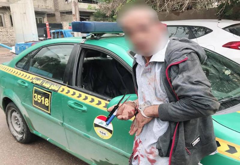 القبض على متهم بالقتل بمنطقة الطوبجي شمال بغداد