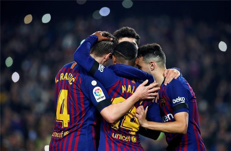 برشلونة يتغلب على ليونيسا برباعية ويبلغ ثمن نهائي كأس الملك