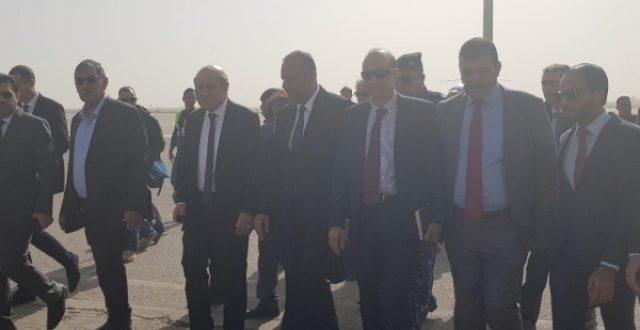 وزير خارجية فرنسا يكشف سبب زيارته للنجف الاشرف