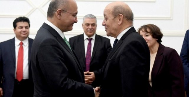 صالح يتلقى دعوة من ماكرون لزيارة فرنسا