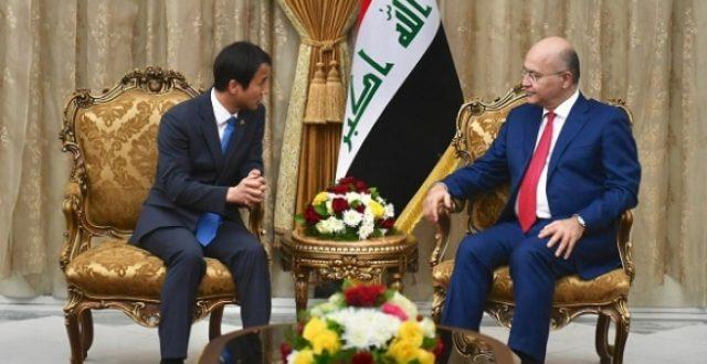 المبعوث الرئاسي الكوري لصالح : مستعدون للاسهام بحركة البناء والاعمار في العراق