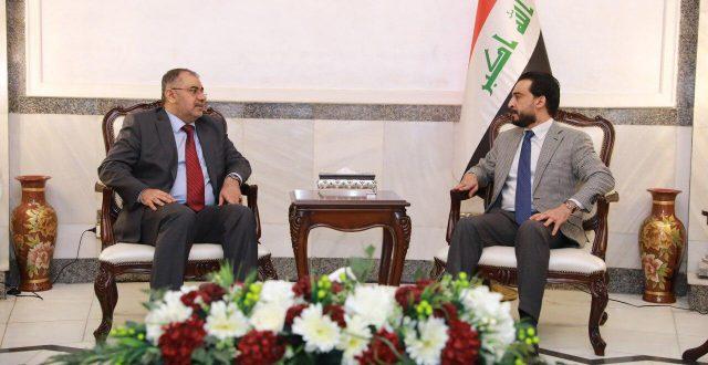 رئيس مجلس النواب يستقبل وزير التعليم العالي والبحث العلمي