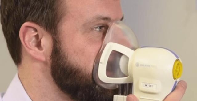 """دراسة جديدة : اكتشاف """"جهاز تنفس"""" يشخص مرض السرطان مبكرا"""