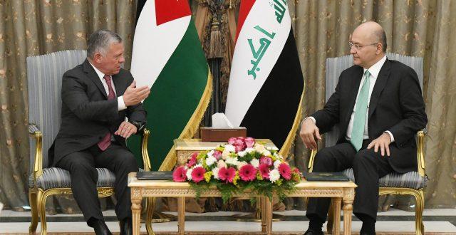 بحفاوة كبيرة.. رئيس الجمهورية يستقبل العاهل الاردني ويؤكد عمق العلاقات التأريخية بين البلدين